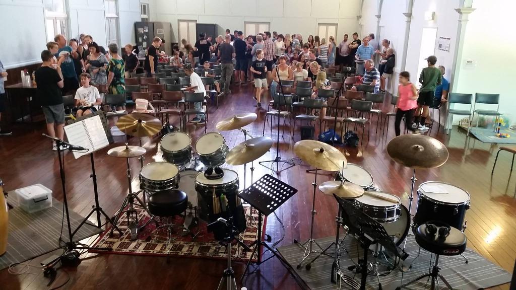 drumming concert - murarrie